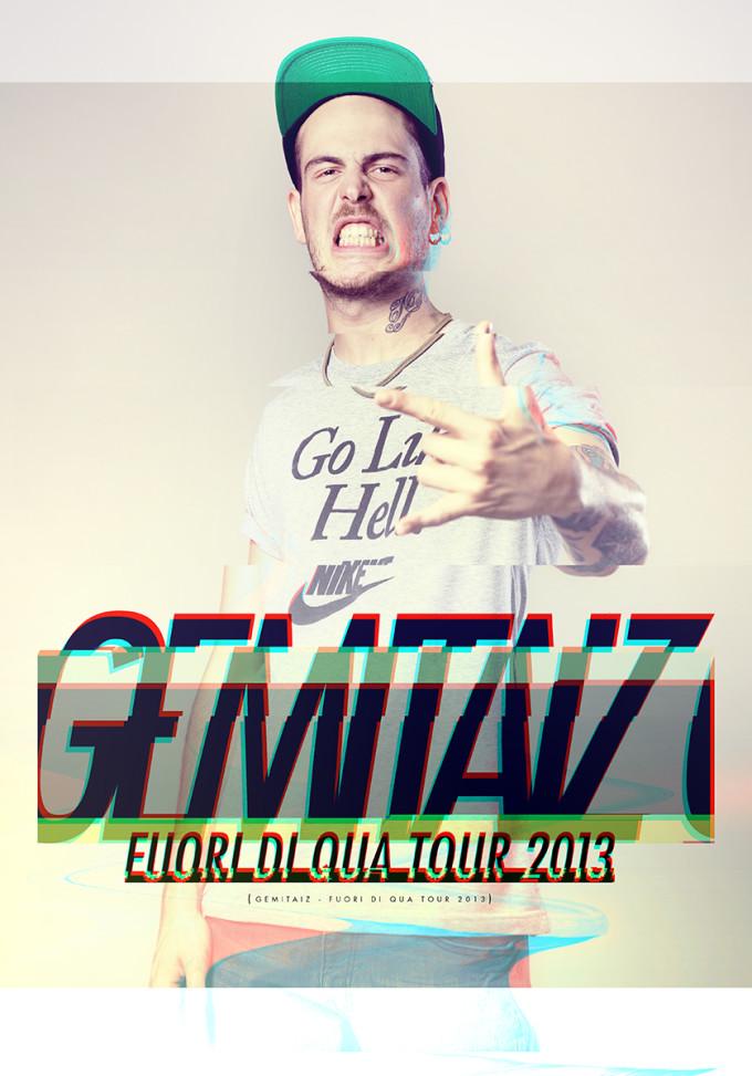 locandina Fuori di Qua Tour 2013